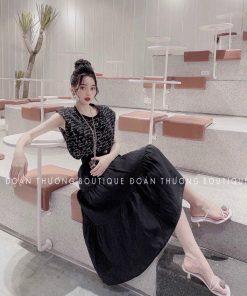 Set áo ngắn tay kèm chân váy siêu yêu