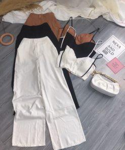 Set áo 2S CRT kèm quần tây lưng cao